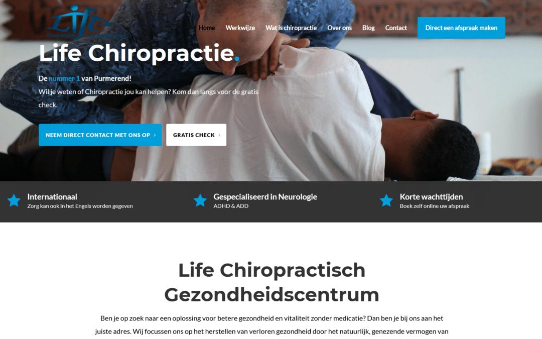Een effectieve website voor jouw chiropractiepraktijk