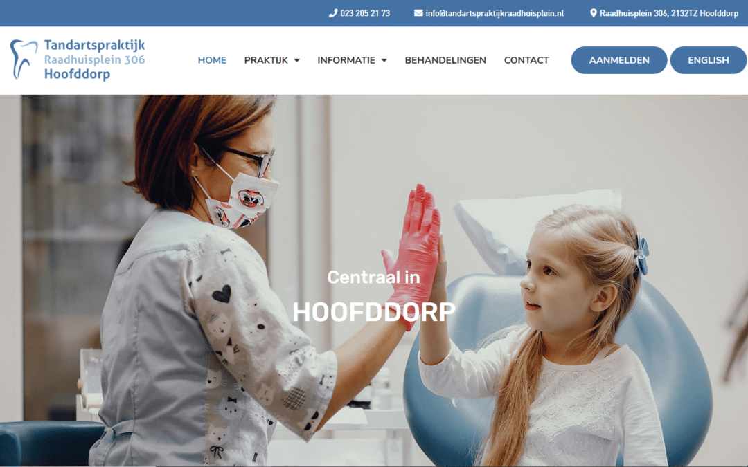 Een converterende website voor tandartspraktijken