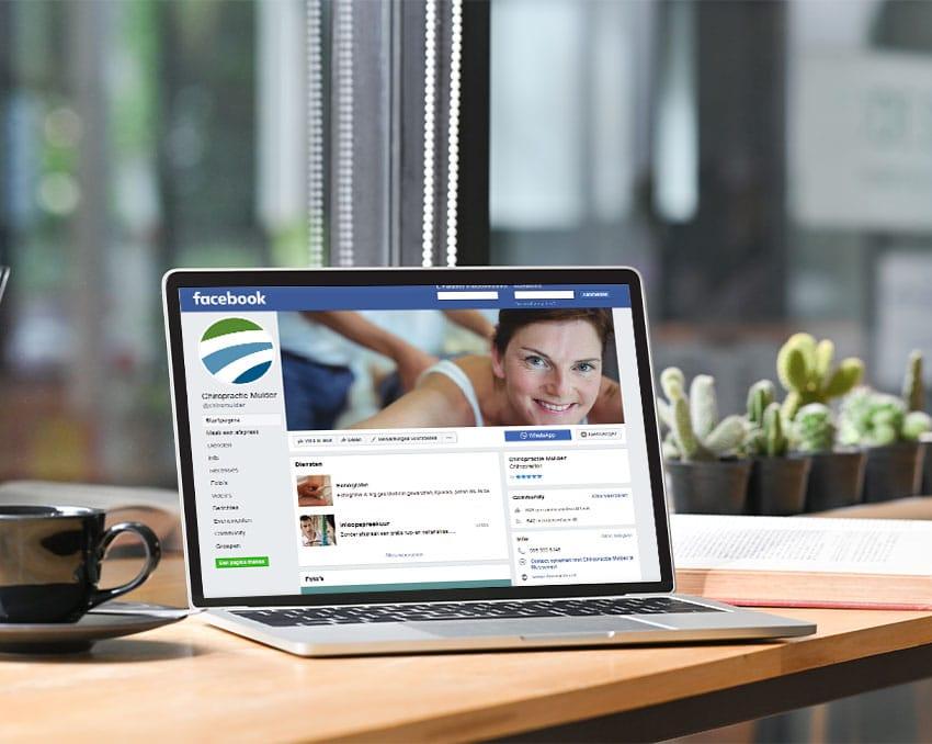 Chiropractie social media