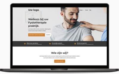 Een website voor de zelfstandige oefentherapeut