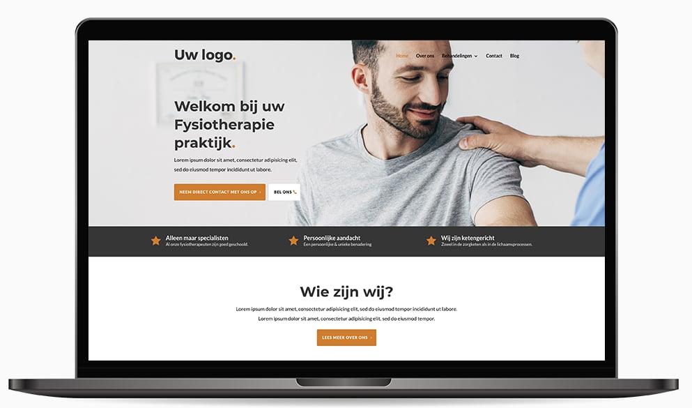 Oefentherapie website