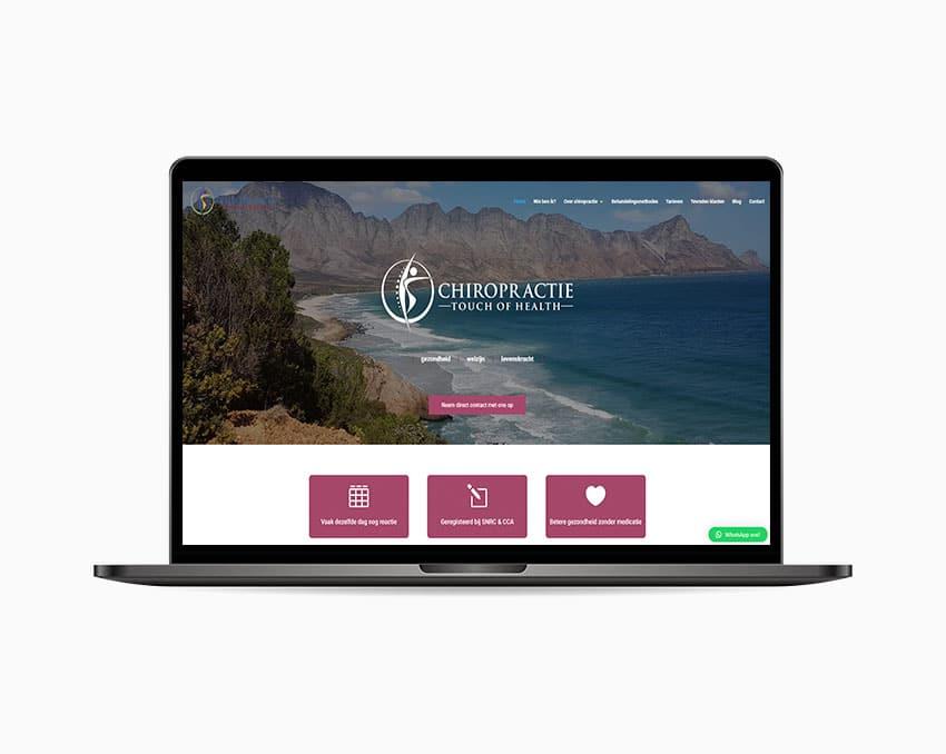 Website op maat chiropractor