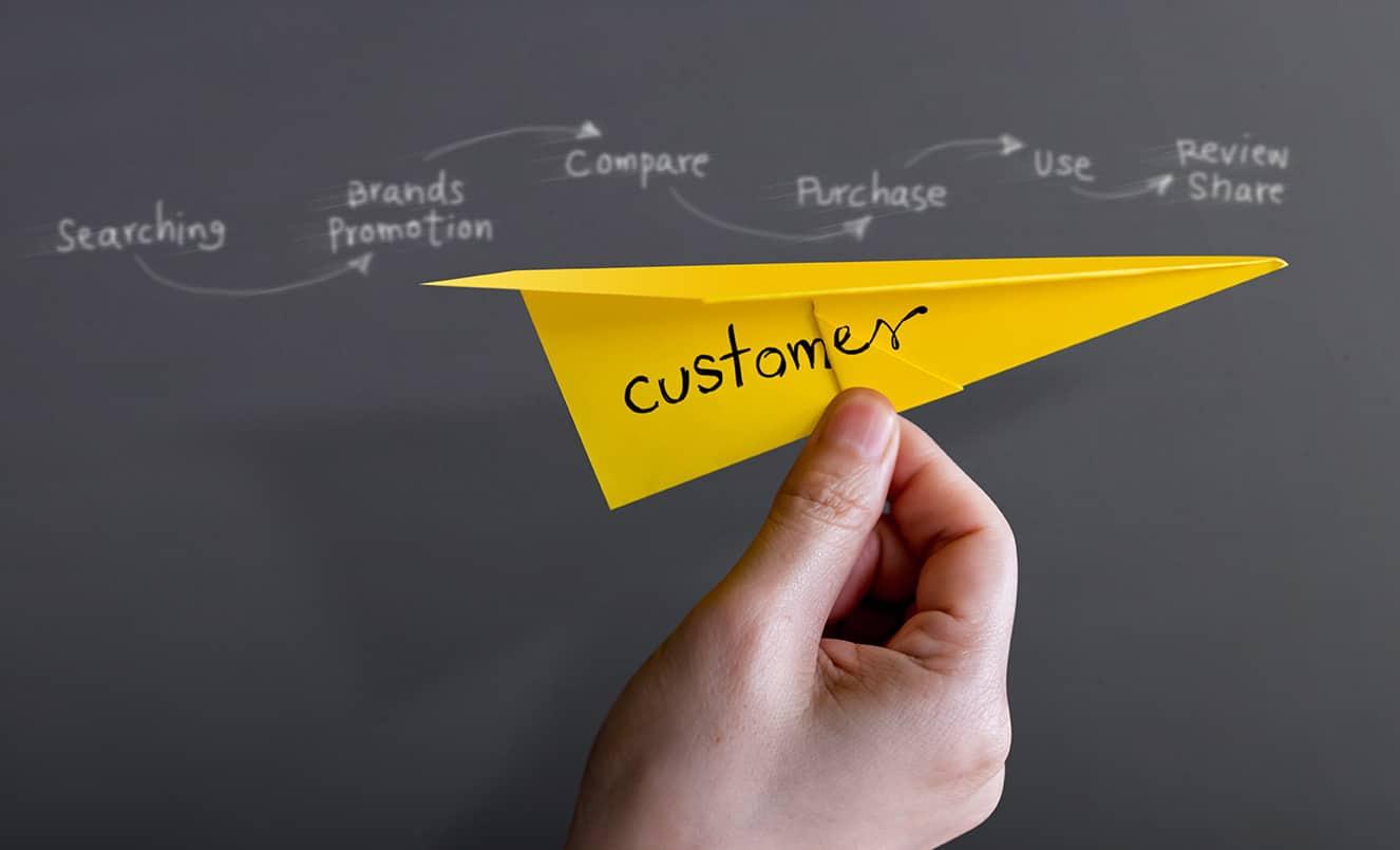 customer journey website